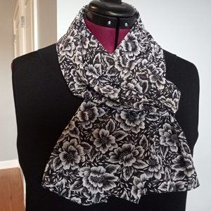 Vintage Jacque and Koko Floral Oblong Scarf/Wrap